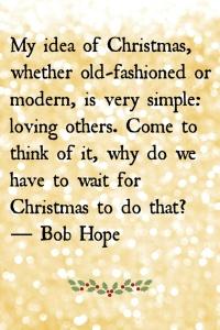 bob hope christmas