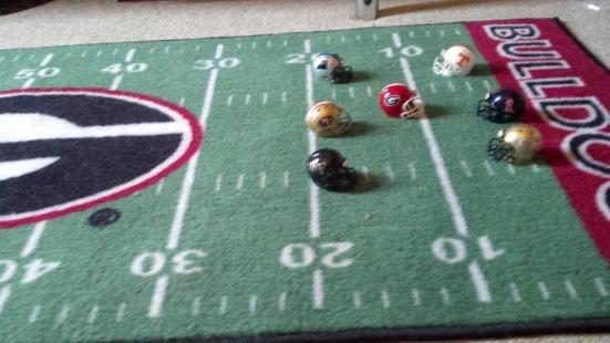 football mat