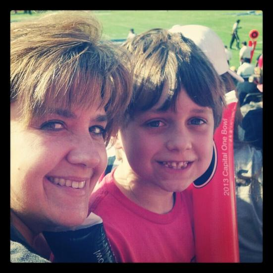 mom and jake capitalone