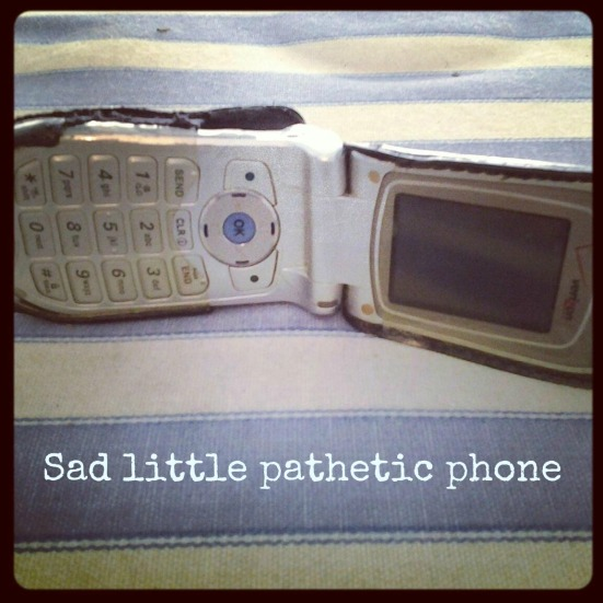 pathetic phone