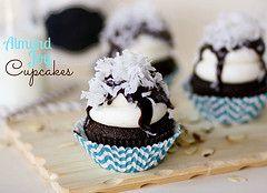 cupcake almond joy