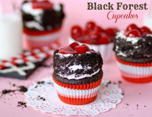 cupcake black forest
