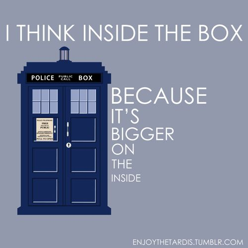 Doctor Who Inside the box