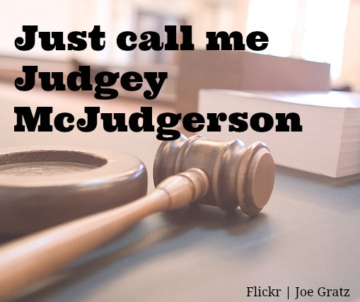 Judgey McJudgerson