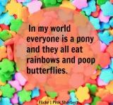 Pooping Butterflies