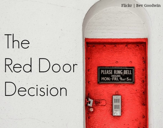 the red door decision