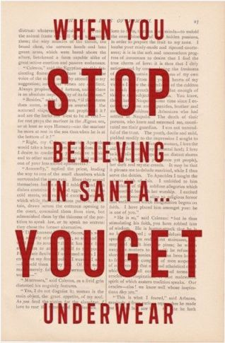stop believing in Santa