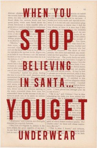 stop believing in Santa