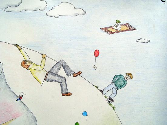 jake's story flying carpet