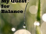 My Quest for Balance
