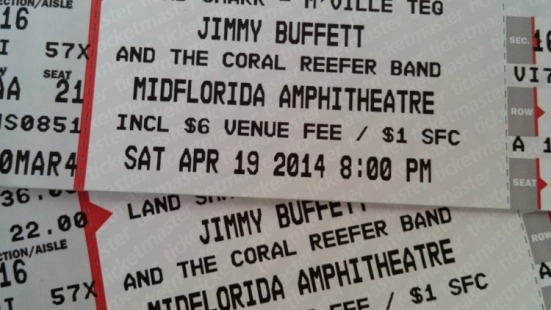 Buffett tickets tampa