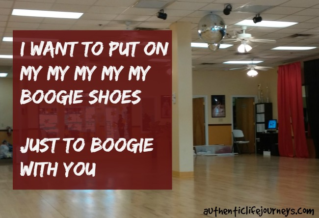 I Want To Put On My Boogie Shoes My Journey To Live An Authentic Life
