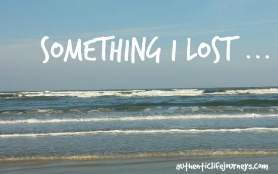 something I lost