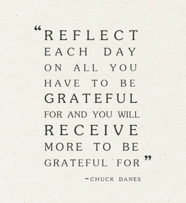 reflect each day