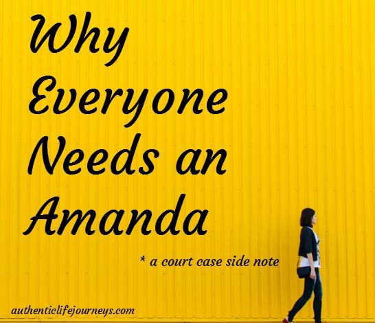 Needs an Amanda